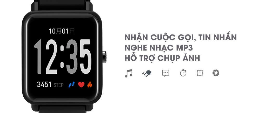 Đồng hồ thông minh nhận thông báo cuộc gọi, tin nhắn