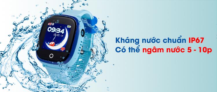 Đồng hồ định vị 400X đạt chuẩn chống nước, chống bụi IP67