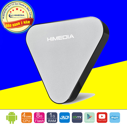 HIMEDIA H1 - QUAD CORE, ANDROID 5.1 Thế hệ Android Box giá rẻ mới của HIMEDIA