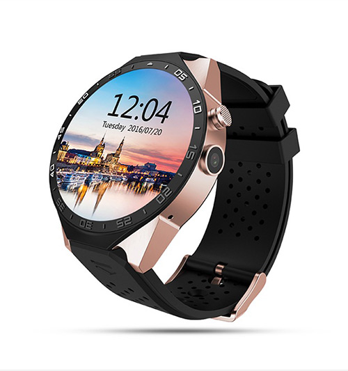 Kingwear KW88 - Android Smartwatch 5.1, Camera Sony 2.0 lắp Sim hỗ trợ WiFi, 3G