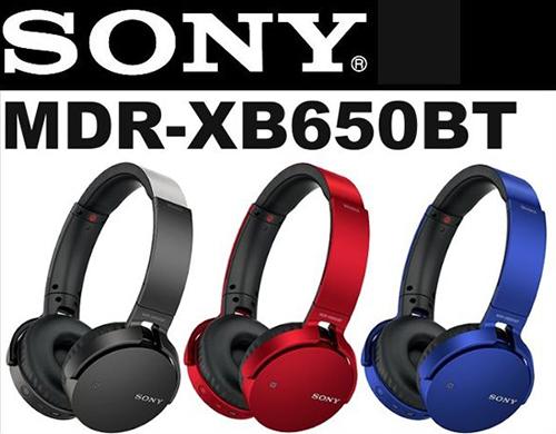 Tai nghe Bluetooth Sony MDR-XB650BT- Hàng chính hãng Sony Việt Nam