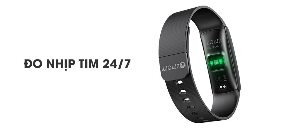 Vòng đeo tay đo nhịp tim iWOWN i6 Pro C