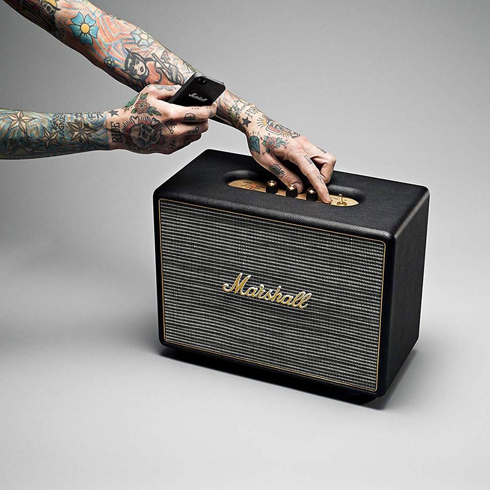 Loa bluetooth Marshall Woburn mang lại âm thanh ấm áp, chi tiết