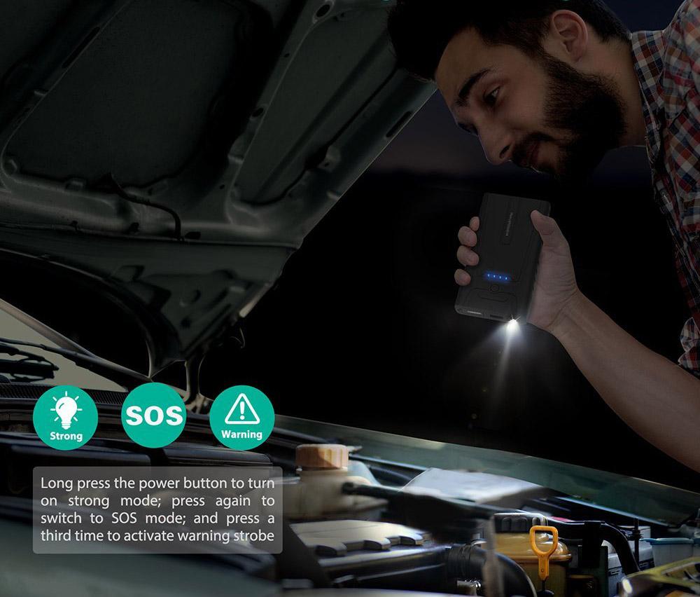 Sạc tích hợp đèn pin thông minh