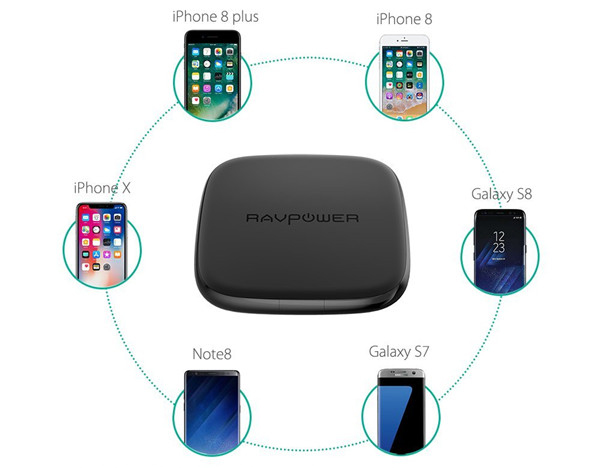Sạc không dây cho Samsung và các thiết bị chuẩn Qi