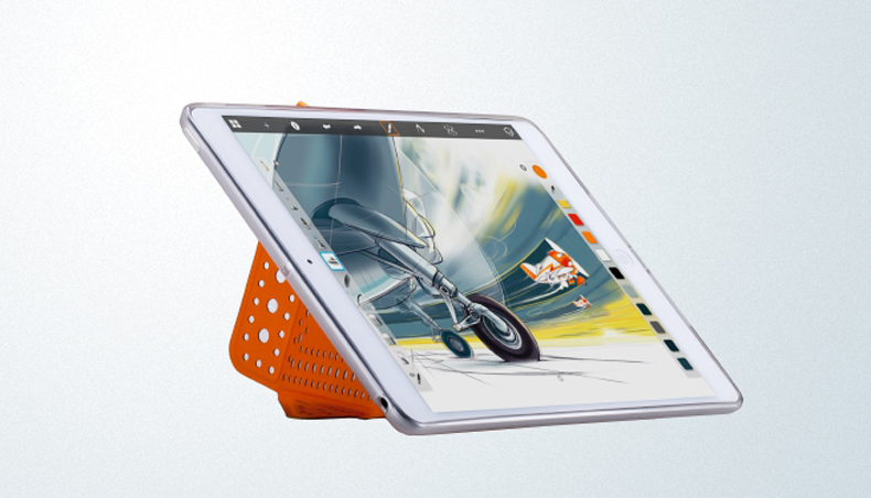 Bao da Ipad mini Retina Polk Dot L1