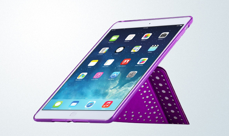 Bao da Ipad mini Retina Polk Dot L