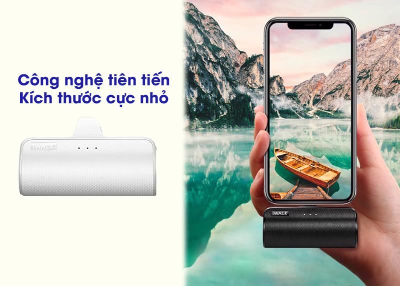 Pin sạc dự phòng siêu nhỏ cho iPhone