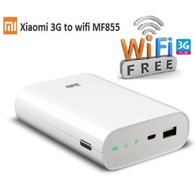Bộ phát WiFi 3G,4G di động Xiaomi ZMI MF855 - Kiêm pin sạc dự phòng cho điện thoại giá rẻ