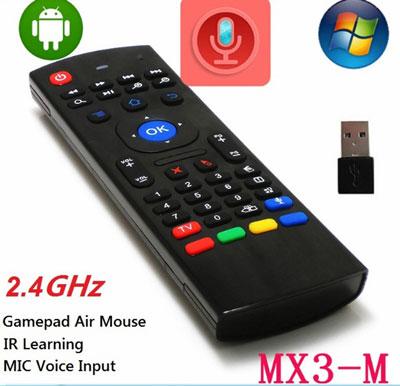 Chuột bay MX3-M Plus Wireless giá rẻ cho Android Box Smart Tivi