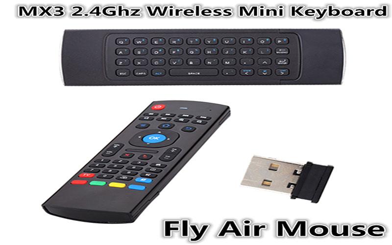 Chuột bay không dây MX3-M Wireless dùng cho thiết bị Android Tivi Box, máy tính PC, laptop giá rẻ nhất Hà Nội, TP. HCM.
