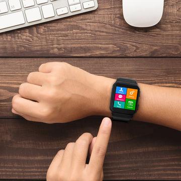 Đàm thoại, lướt Web, hỗ trợ chơi thể thao với smartwatch KW06