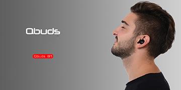 Tai nghe bluetooth Qbuds W1 trang bị công nghệ chống ồn CVC 6.0 hiện đại nhất