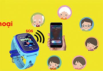 Cùng con lắng nghe thế giới với đồng hồ định vị Wonlex GW400S
