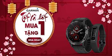 Siêu bất ngờ: Mua Garmin Fenix Plus nhận ngay quà tặng Garmin Vivosmart 4 siêu sang