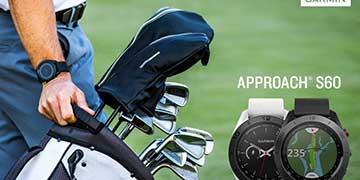 Bộ đôi smartwatch chơi gôn tốt nhất 2019 - Garmin S60 và Garmin S40