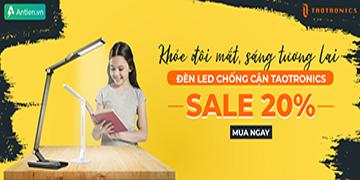 Đèn LED Chống Cận Sale Up To 20% - Khỏe đôi mắt, Sáng tương lai