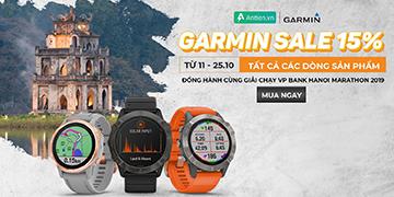 Garmin Đồng Hành Cùng Giải Di Sản VP Bank Hanoi Marathon 2019- Giá giảm sâu, ưu đãi cực ngầu
