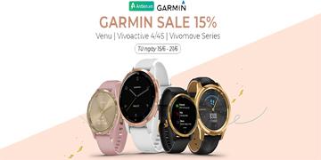 [SIÊU OFF] Chương trình Female color promotion: Off 15% giá đồng hồ Garmin