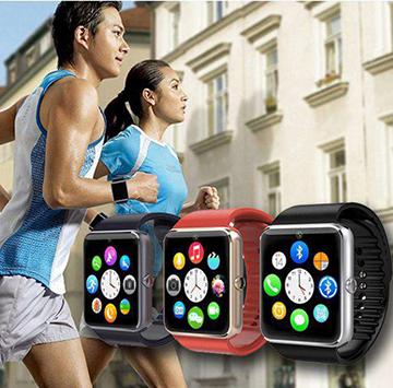 Đồng hồ thông minh GT08 - Bản dupe hoàn hảo của Apple Watch