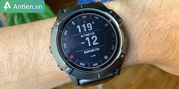 Ý nghĩa của 2 chỉ số: Altimeter và Barometer trên đồng hồ Garmin