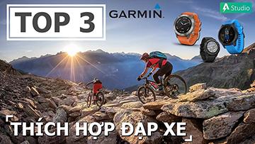 Top 3 đồng hồ thể thao Garmin thích hợp nhất cho đạp xe