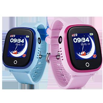 Đồng hồ định vị trẻ em chống nước Wonlex KT01 (GPS, WIFI, LBS) có rung, camera