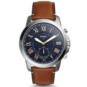 Đồng hồ thông minh Fossil Hybrid FTW5010 - VIRGINIA ROSE GOLD-TONE STAINLESS STEEL