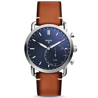 Đồng hồ thông minh Fossil Hybrid FTW1208 - ACCOMPLICE ROSE GOLD-TONE STAINLESS STEEL