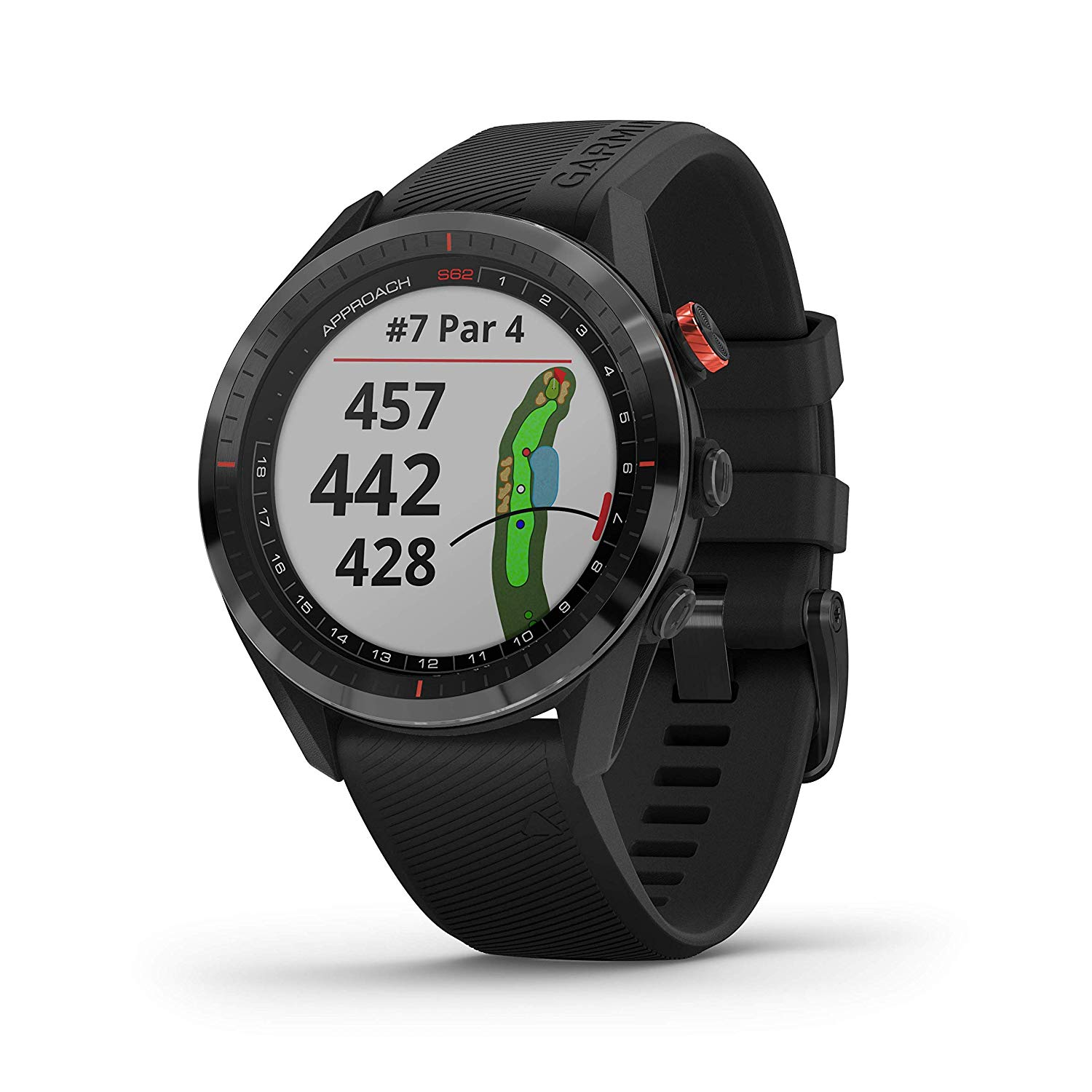 Đồng hồ Garmin Approach S62 Premium with CT10 Bundle, Golf GPS