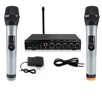 Micro Karaoke không dây ARCHEER X168 UHF có màn hình