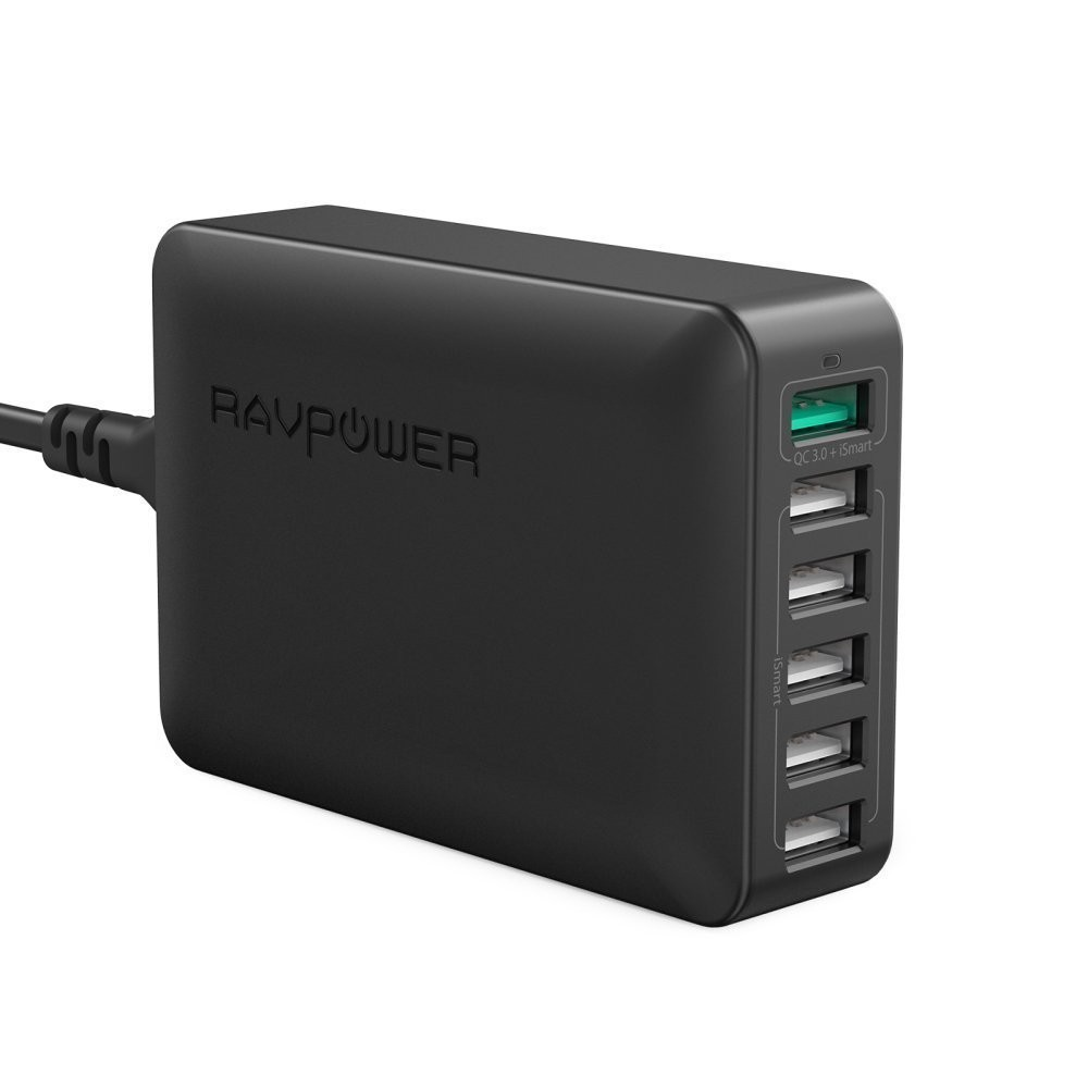 Củ sạc kiêm ổ cắm thông minh RAVPower RP-PC003