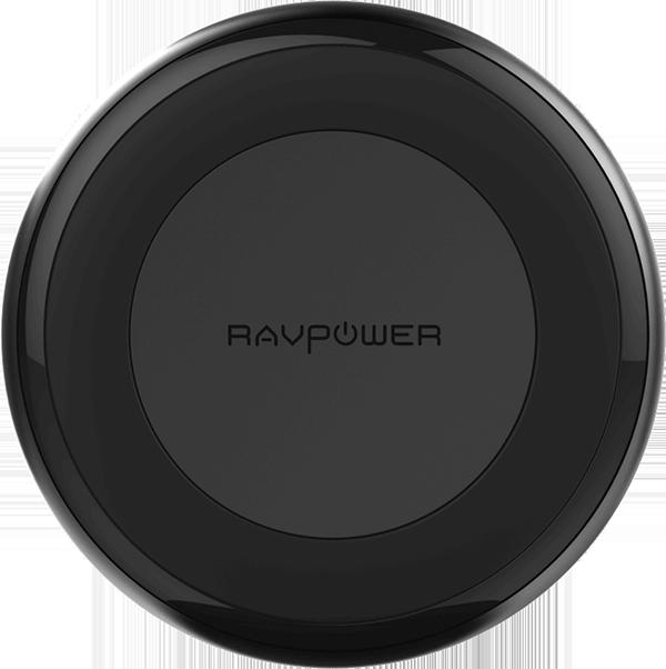 Sạc không dây RAVPower RP-PC063 chuẩn QI hỗ trợ đầu ra lên đến 10W