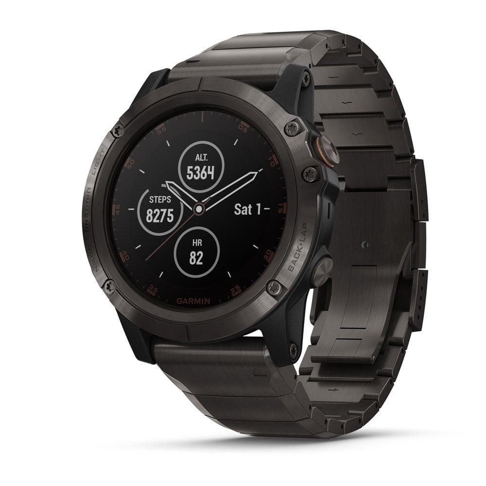 Đồng hồ Garmin Vivomove HR Premium Black Tan