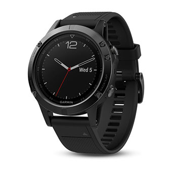 Đồng hồ Garmin Fēnix® 5S Plus Sapphire 42mm, Black wBlack Band