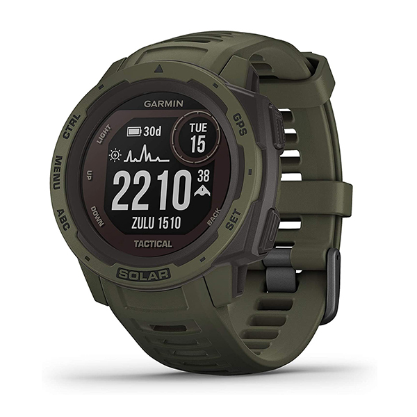 Đồng hồ Instinct Tactical Camo Graphite, GPS, SEA