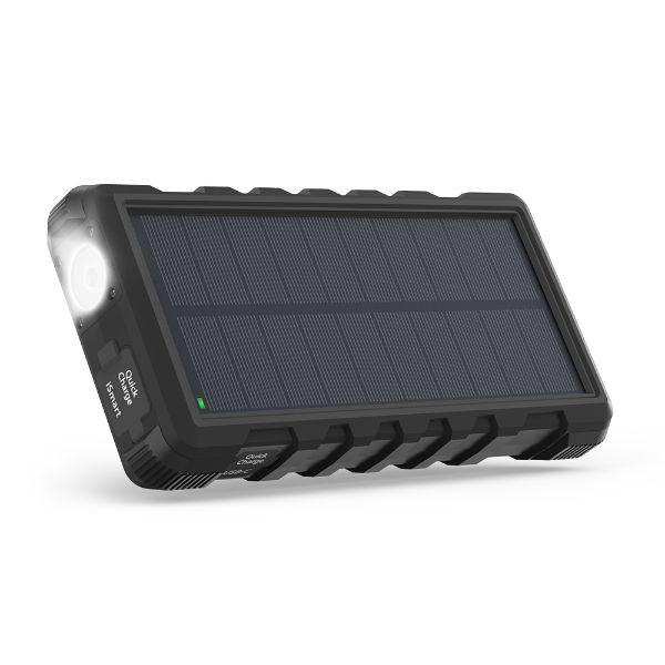 Pin dự phòng năng lượng mặt trời RAVPower RP-PC008, 16W, 2 cổng USB
