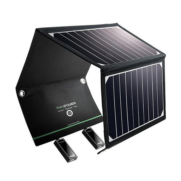 Pin dự phòng năng lượng mặt trời RAVPower RP-PB083, 25000mAh, QC3.0, USB-C