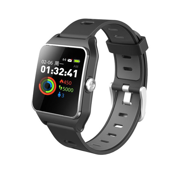 Đồng hồ thông minh Doric đo nhịp tim, huyết áp, nồng độ oxy